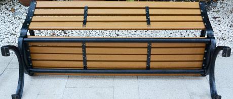公园椅底部加固结构
